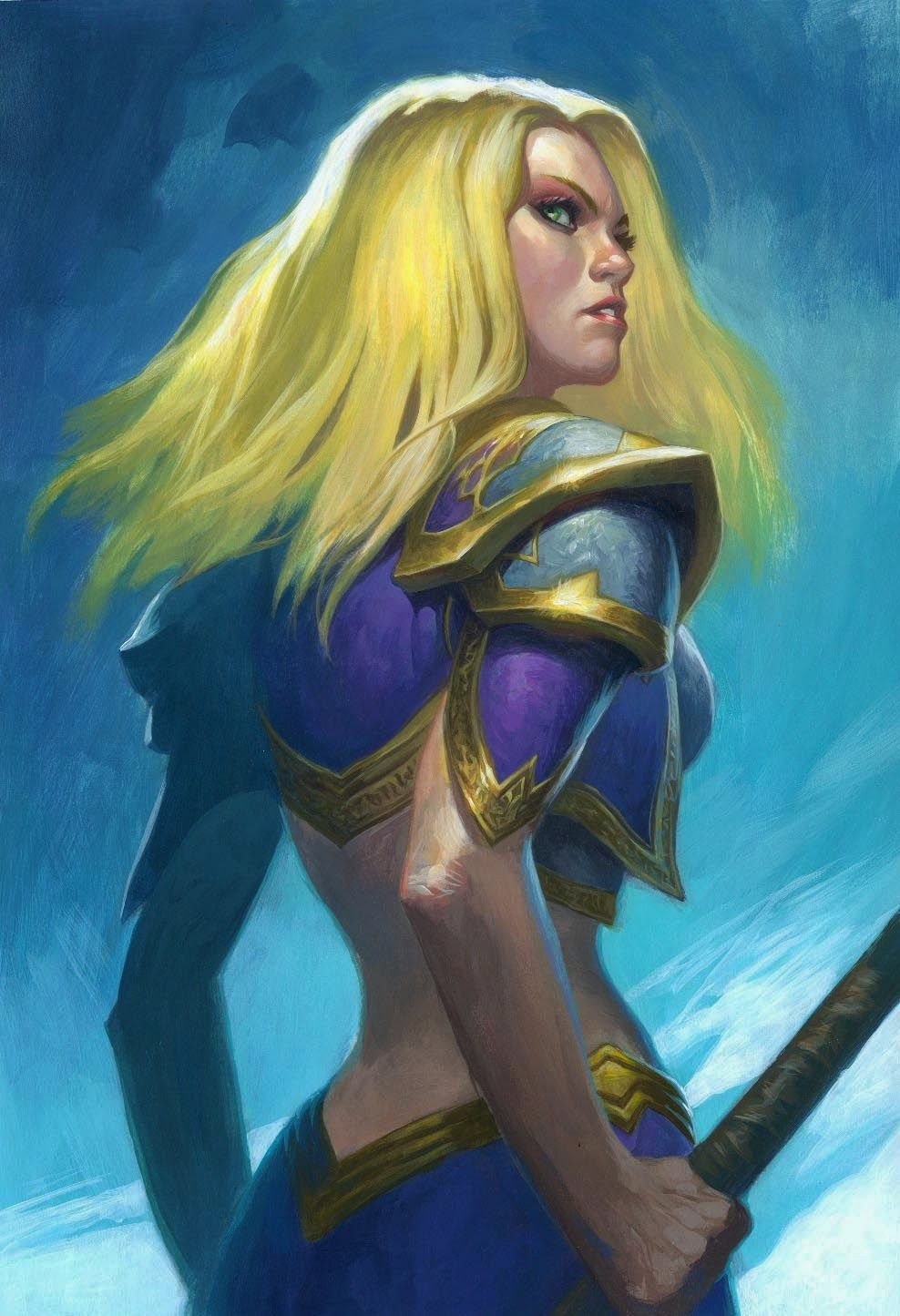 Jaina proudmoore desnuda softcore girlfriend