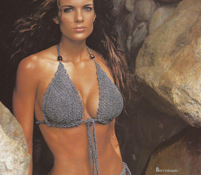 Patrón de Traje de baño Bikini a Crochet