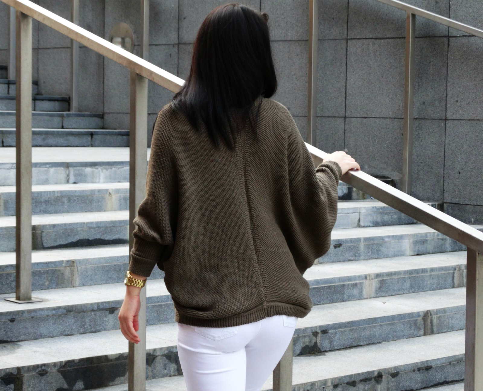 Amstyl - sweter oversize