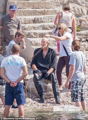 Tywin Lannister rodaje tercera temporada Juego de Tronos - Juego de Tronos en los siete reinos