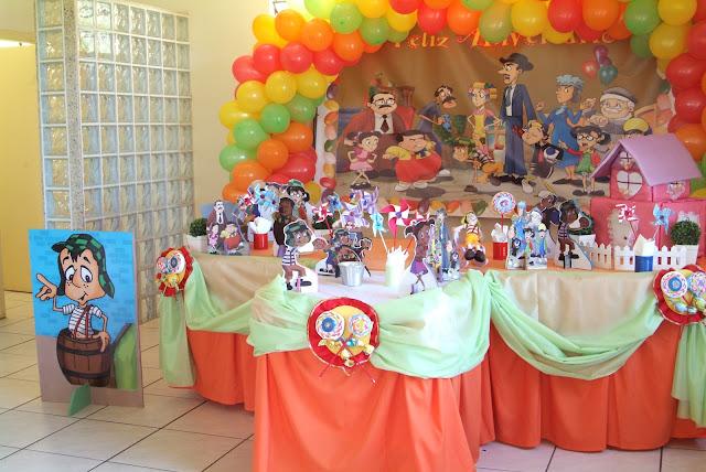 de Festas DECORAÇÃO INFANTIL  TEMA  TURMA DO CHAVES PASSO FUNDO