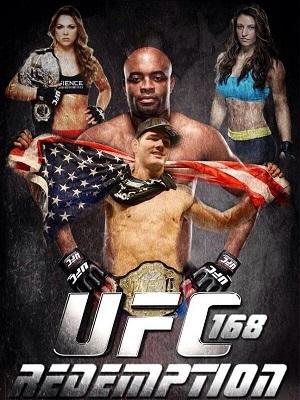 Ufc 168 Poster Campeones de Artes Mar...