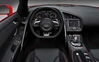 2013 R8 interior