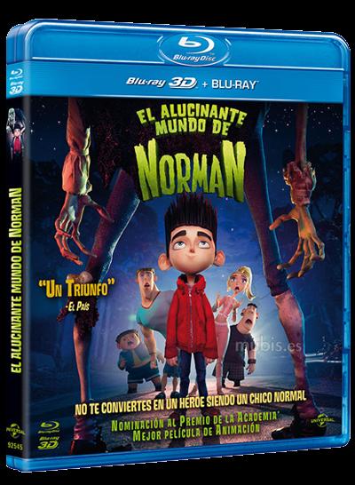 El Alucinante Mundo de Norman: Ya a la venta en Blu-Ray, DVD y Blu-Ray 3D