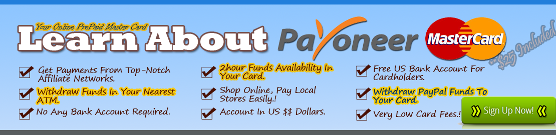 apply for payoneer account