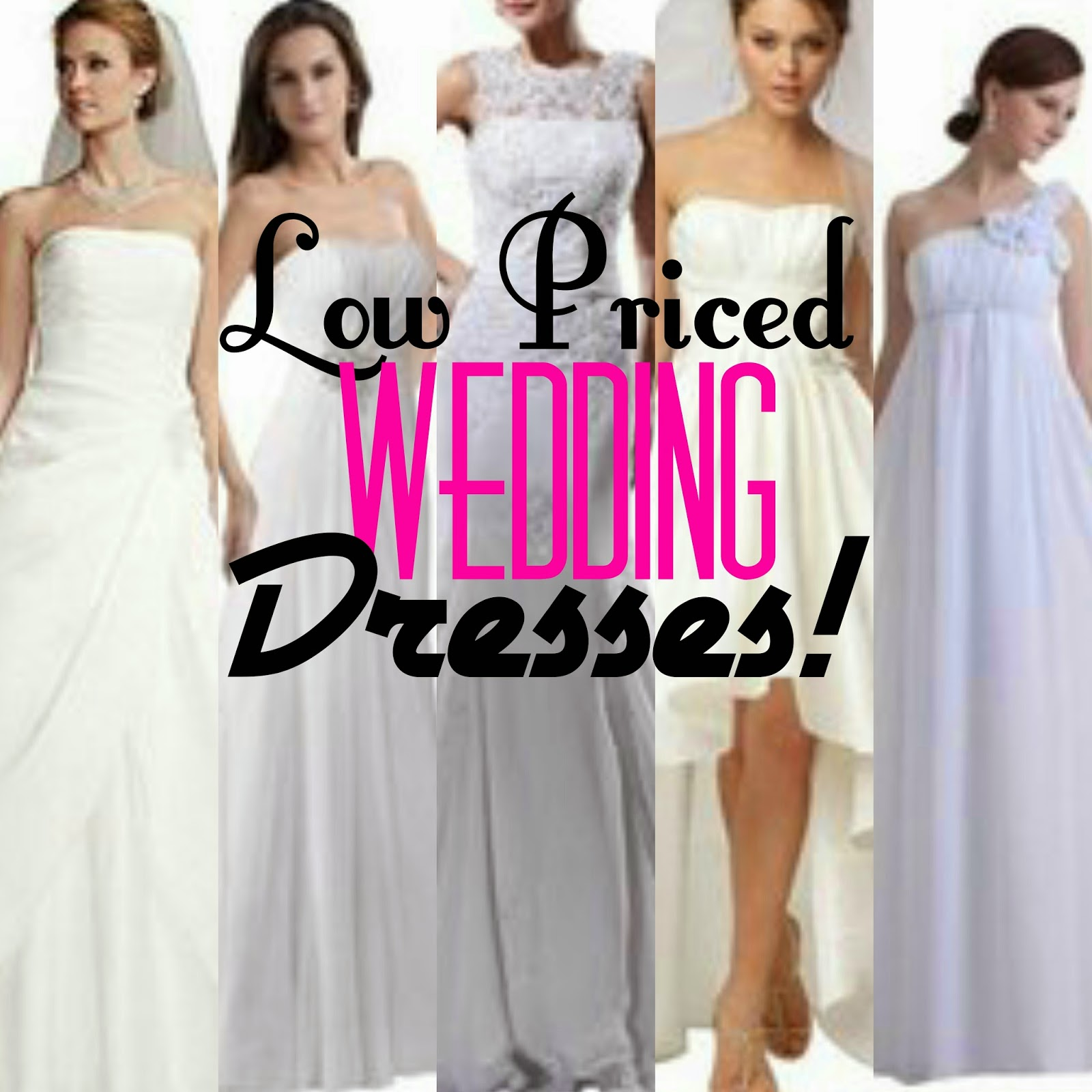 This Product and That!: Low Priced Wedding Dresses