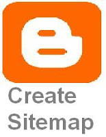 Create sitemap in blogger
