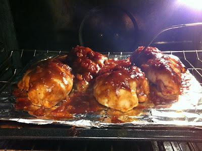 Oven Chicken BBQ