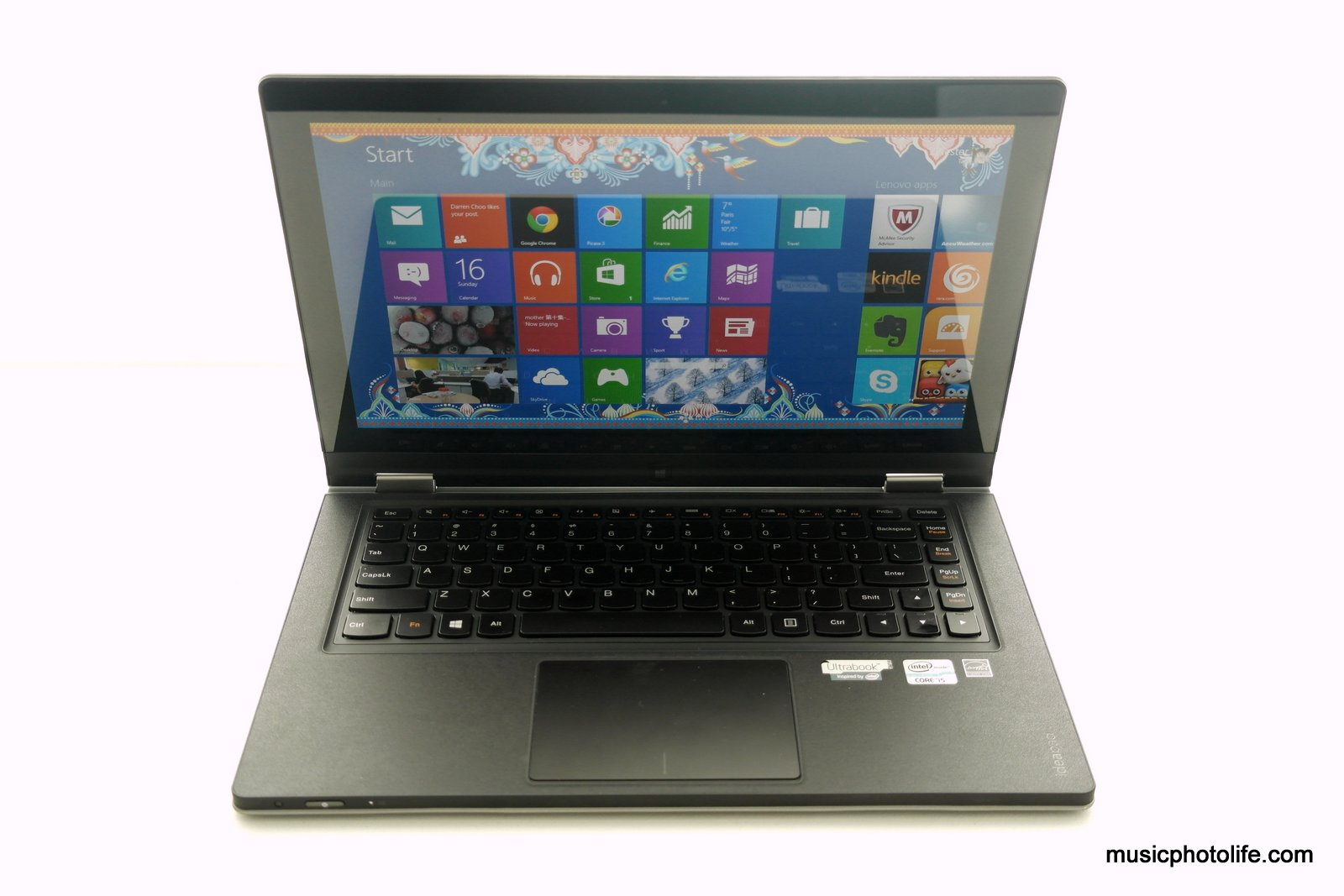 Lenovo ideapad yoga 13 ultrabook tablet review