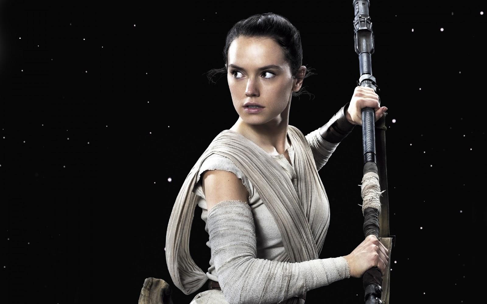 Daisy Ridley Star Wars full HD Wallpaper 1080p