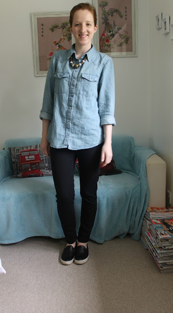 OOTD Outfit Of The Day Zara Topshop Accessorize Fashion Blogger