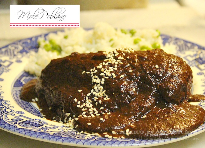 Mole Poblano Mexico in my kitchen: how to make mole poblano / cómo ...