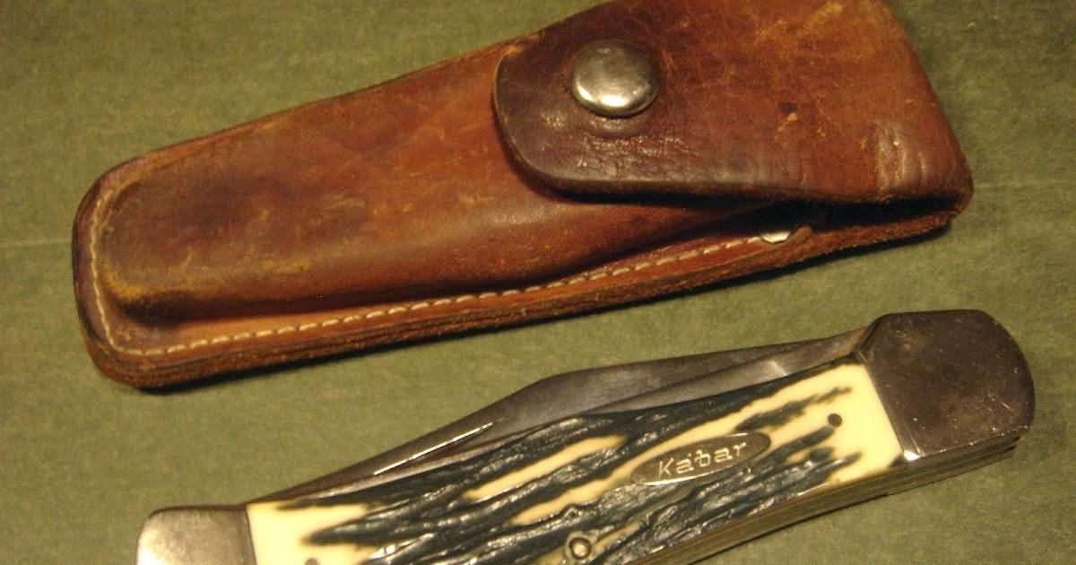 Knives 4sale Kabar 1184 Usa Folding Clasp Hunter Bowie