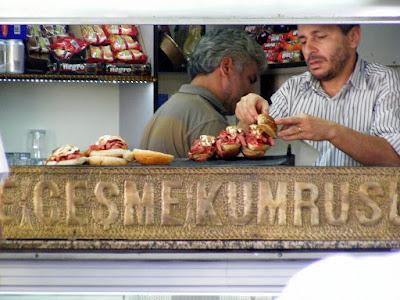 Turkish Street Food - Izmir Çeşme Kumrusu