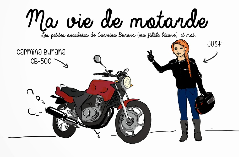 """""""Ma vie de motarde"""", une artiste qui se révèle à tous..."""