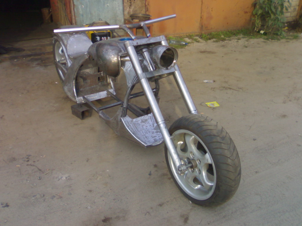 Самодельная рама для двигателя