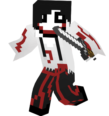 Jeff the killer itowngameplay skin minecraft