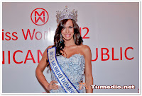 Sally Aponte miss mundo dominicana miss world 2012