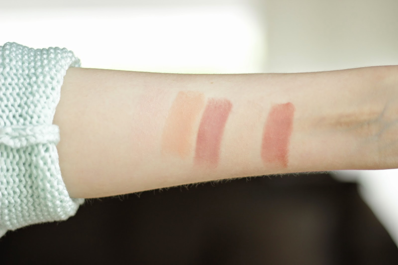 essence longlasting lipsticks nude review swatches