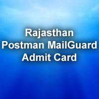 call letter for rajasthan postal circle exam