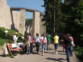 La Cetatea Neamţului, 20.V.2011...