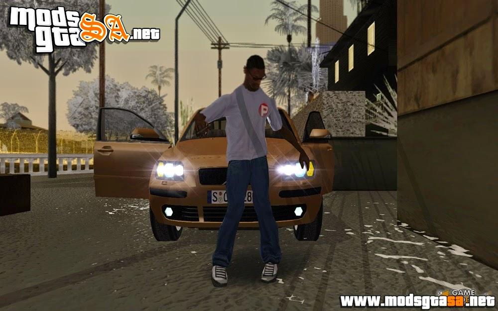 SA - Novo Pack de Animações Realistas para CJ V2.0