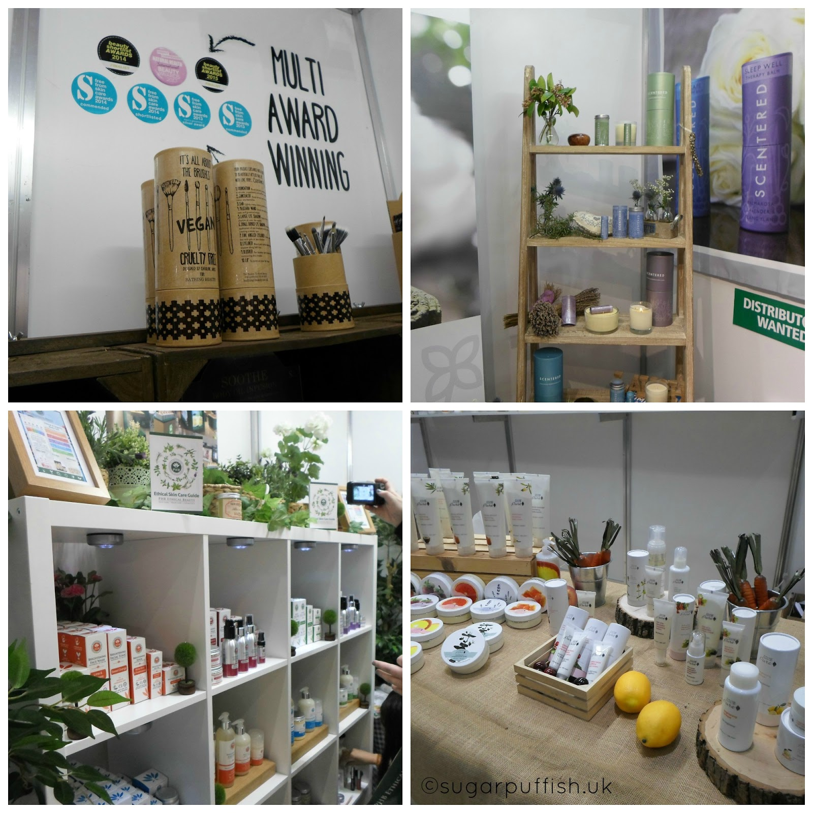 natural and organic skincare discovered at Natural & Organic Products Europe 2015