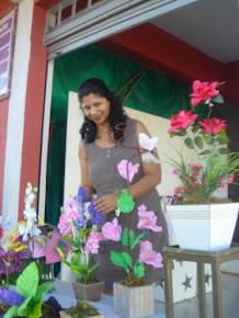 Drucila Milian em Bazar de Artesanatos