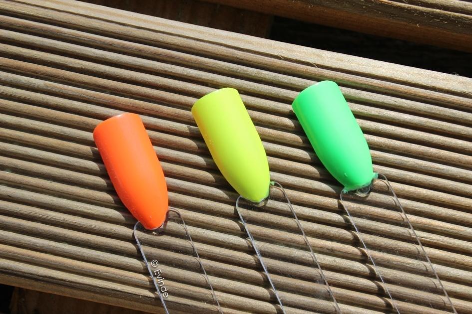 drugstore neon nail polish
