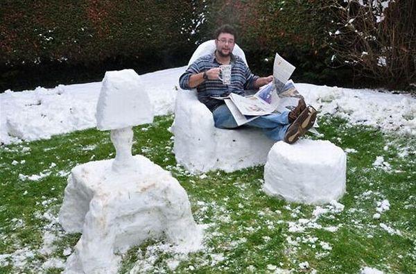 Snow+Room