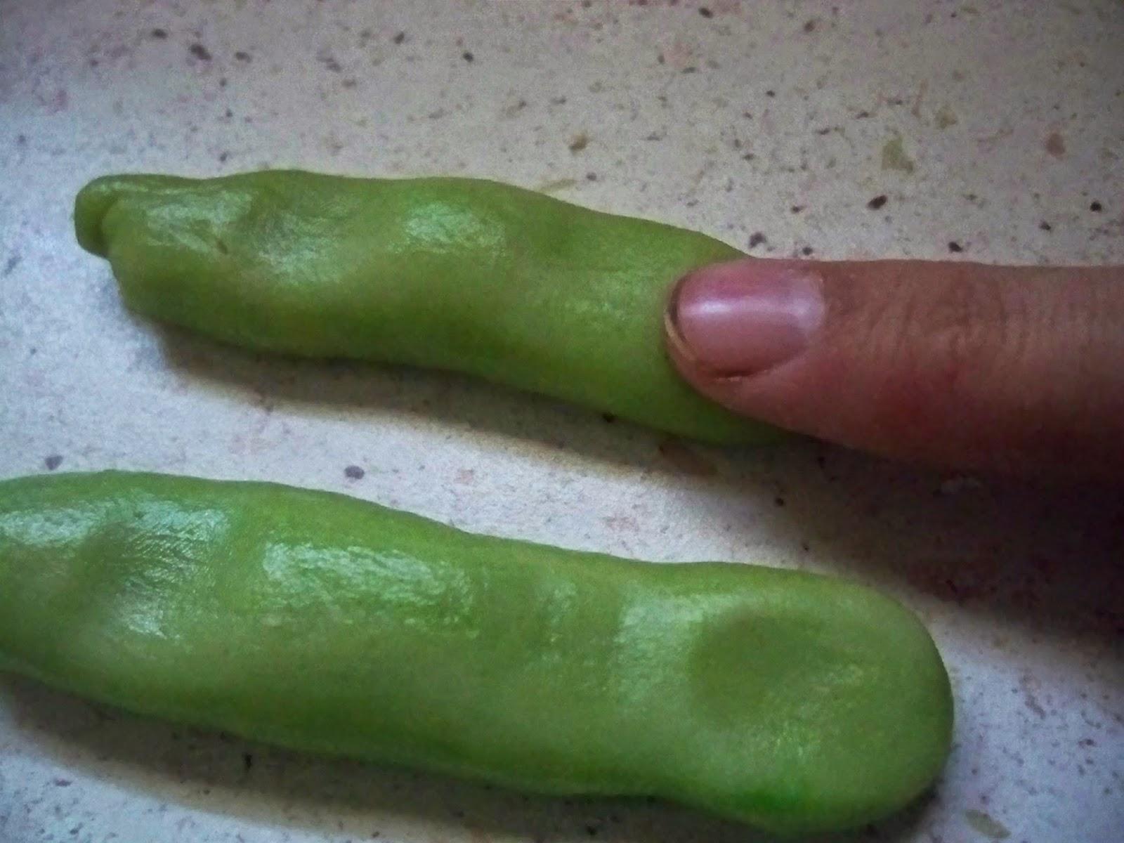 El Taller de la Repostería: Dedos de zombie