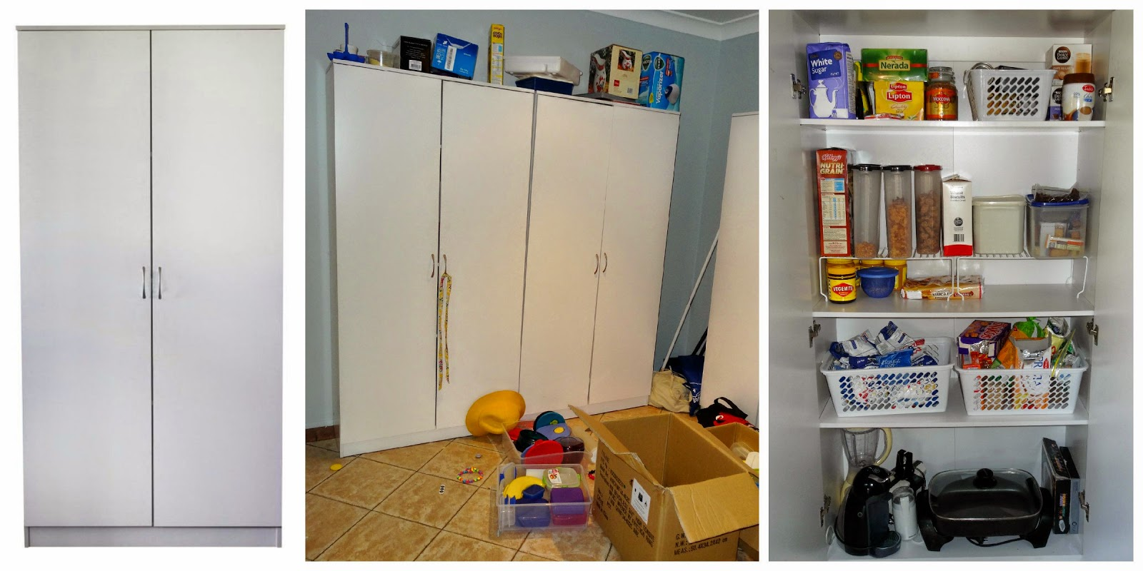 Excuse The Messy Middle Photo, It's From Before I Finished Unpacking!