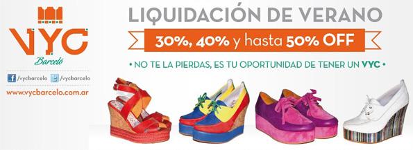 descuentos zapatos sandalias 2013 VYC Barcelo