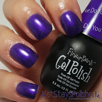 FingerPaints Gel Polish - Hue Do You He-art? | Kat Stays Polished
