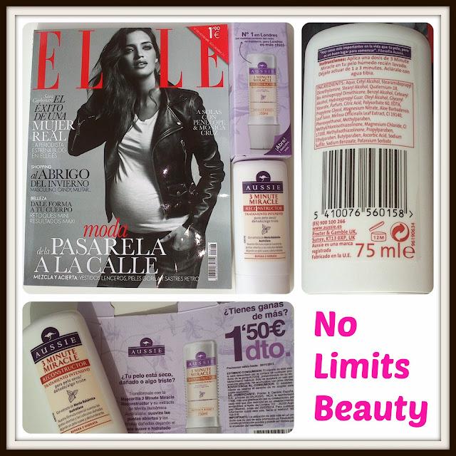 Revista Elle Noviembre 2013 - regalo y descuento