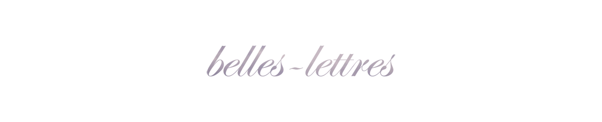 BELLES-LETTRES