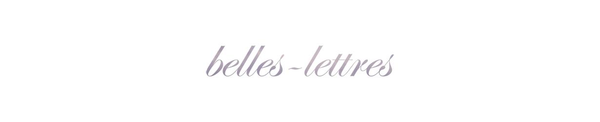 BELLES-LETTRES