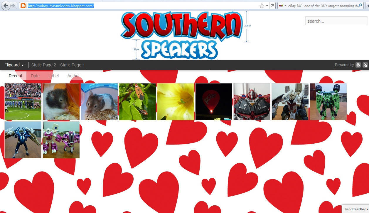 adding header image in blogger dynamic view southern speakers v3 0