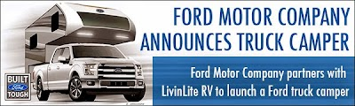 Ford Motor Co., Livin' Lite RV team to build a 2015 F150 truck camper