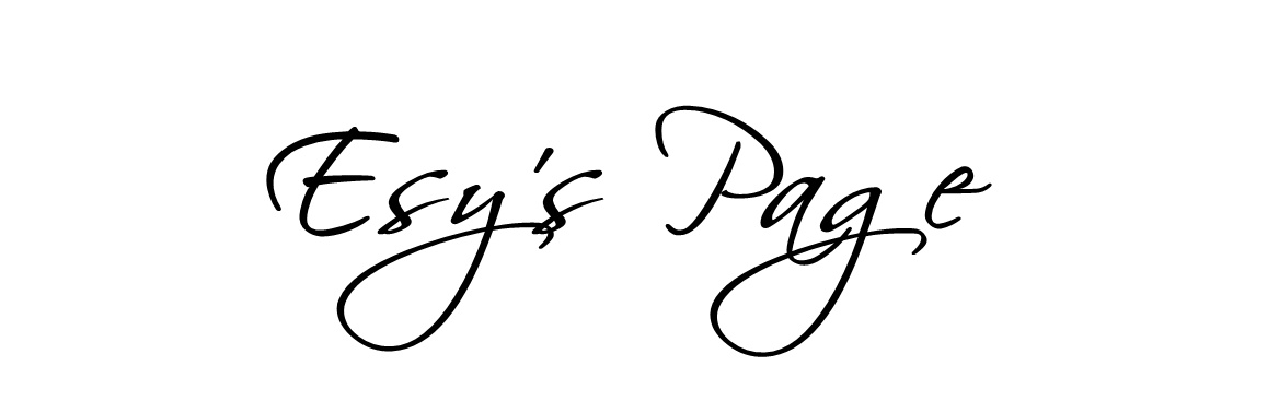 ESY'S PAGE