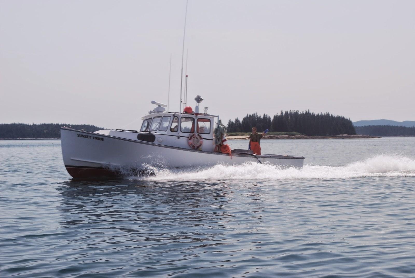 Litton 39 s fishing lines isle au haut acadia national park for Acadia national park fishing