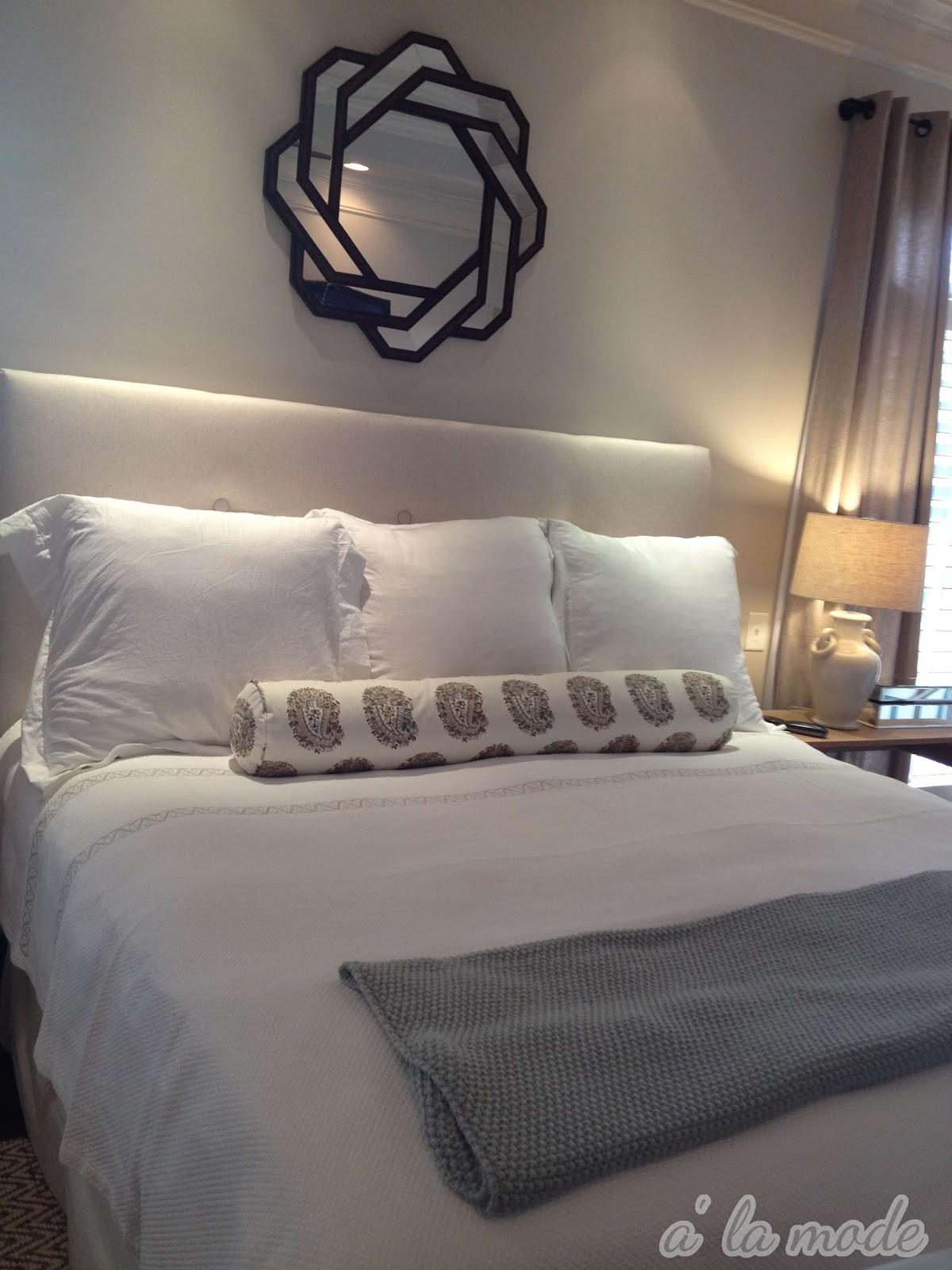 all white bedding. alamode all white bedding