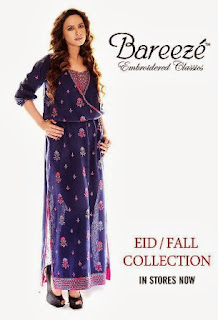 Embroidered Bareeze Winter Collection