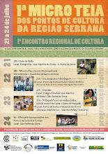 I microteia de Pontos de Cultura da Região Serrana