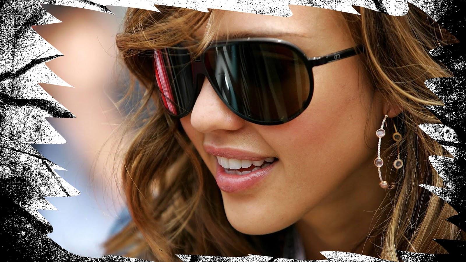 Фото красивых девушек в очках от солнца на аву