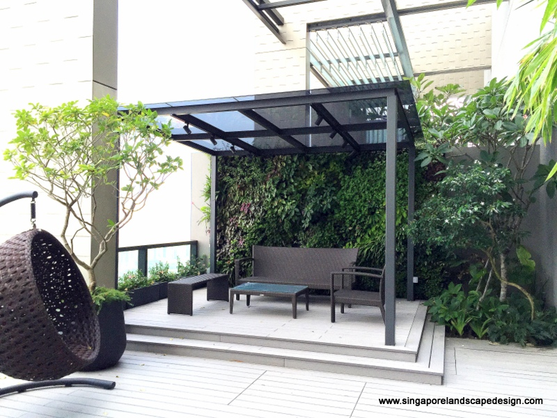 Singapore Landscape Design Penthouse In Style 9