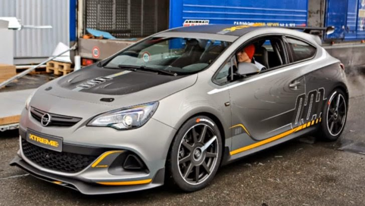 coches y motos 10 opel astra opc extreme llegar al mercado. Black Bedroom Furniture Sets. Home Design Ideas