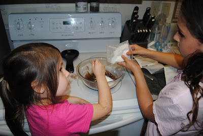 Kids Making Chocolate