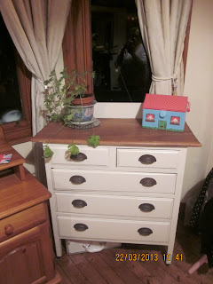 Recycled chest of drawers