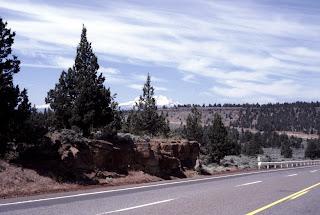 Arid central Oregon